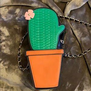 Cactus shaped purse